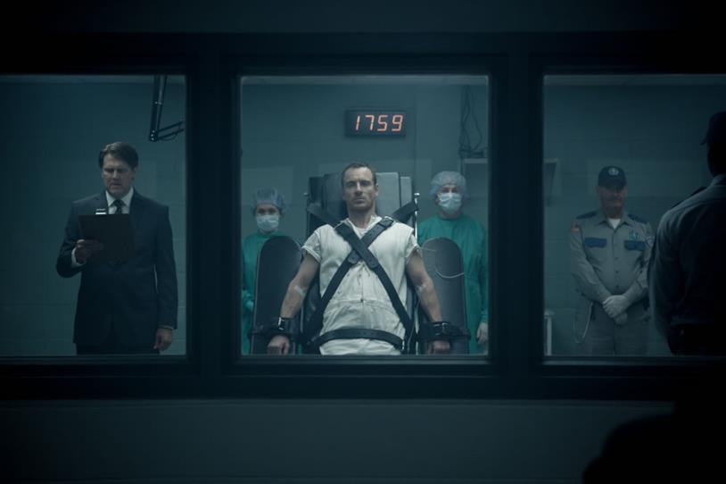 Michael Fassbender nel film di Assassin's Creed