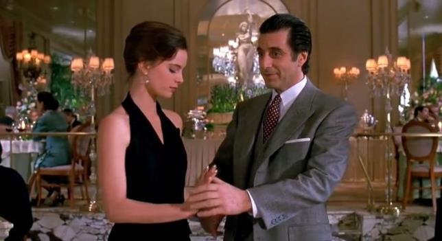 Al Pacino e Gabrielle Anwar