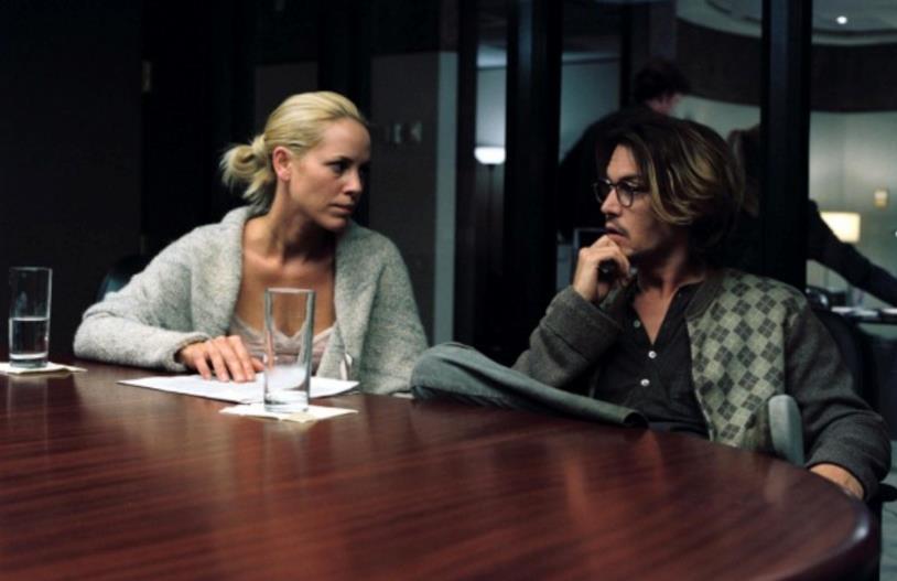 Una scena di Secret Window con Amy e Mort