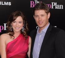 Jensen Ackles e Danneel Harris a un evento ufficiale
