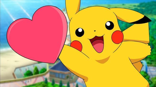 Pikachu ci regala amore