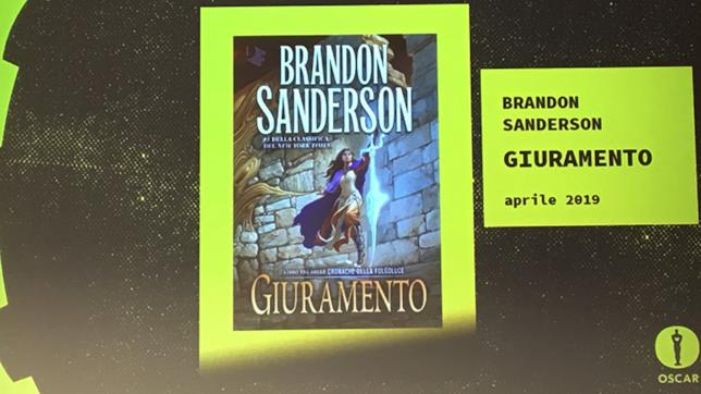 Brandon Sanderson torna con Giuramento
