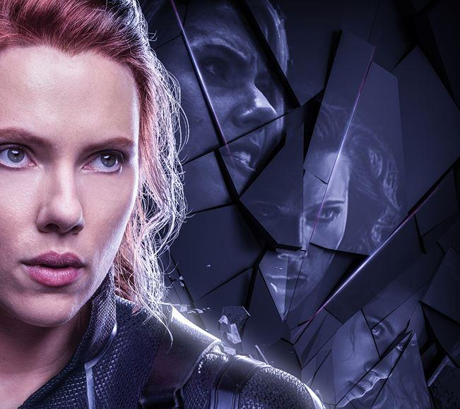 Poster di Avengers: Endgame dedicato a Vedova Nera