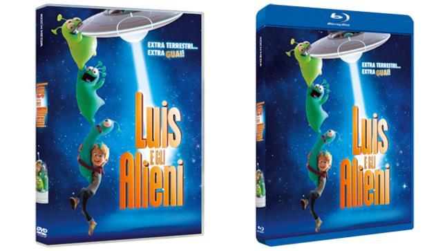 Luis e gli alieni - Home Video