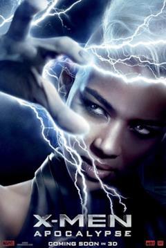 Un poster del film con il primo piano di Ororo Munroe / Tempesta
