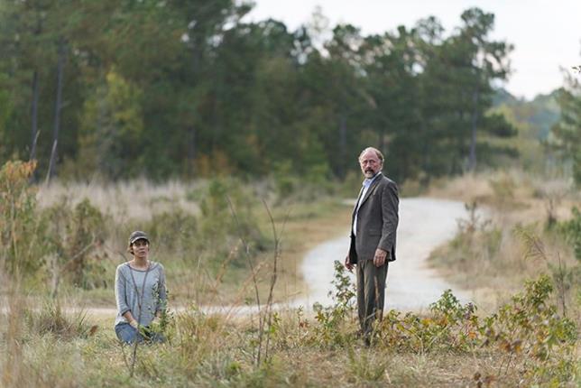 Una scena della serie con Maggie e Gregory