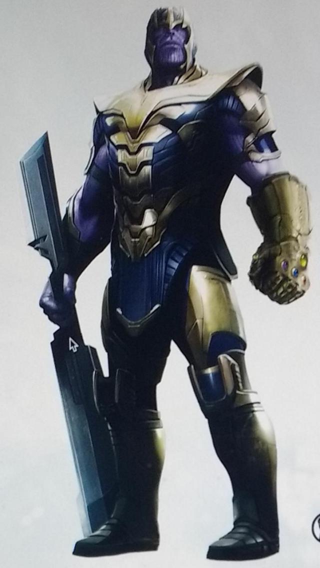 Thanos avrà un nuovo look in Avengers 4?