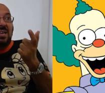 Fabrizio Mazzotta, doppiatore di Krusty