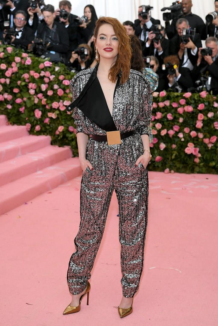 Emma Stone al Met Gala 2019