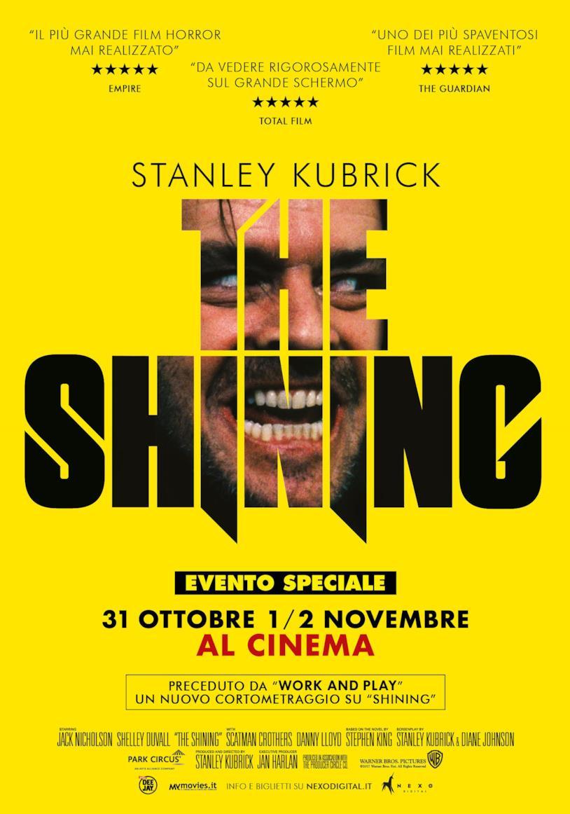 L'evento speciale di Halloween: Shining di Kubrick