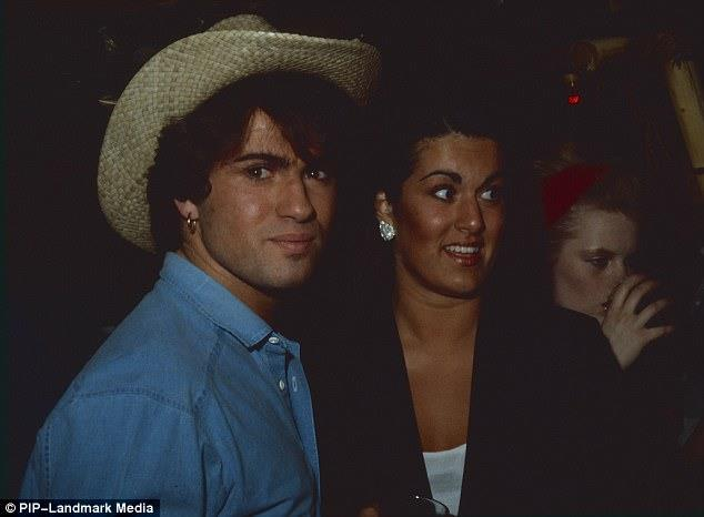 George Michael in un vecchio scatto con la sorella Melanie