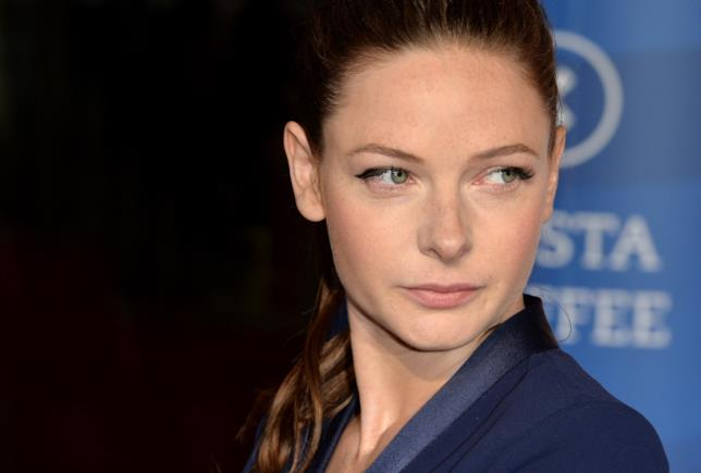 Rebecca Ferguson a un evento per Mission Impossibile: Rogue Nation