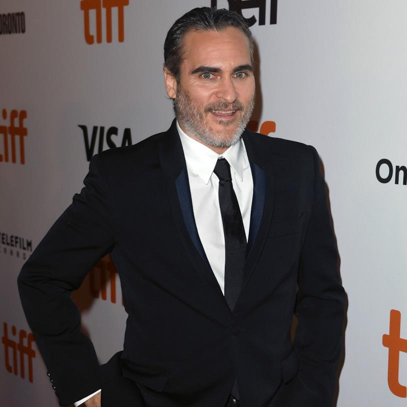 Mezza figura di Joaquin Phoenix al Toronto International Film Festival 2019