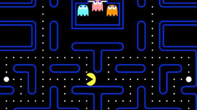 Immagine di un livello di Pacman