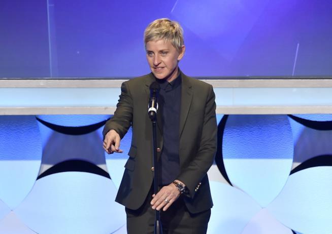 Immagine di Ellen DeGeneres sul palco