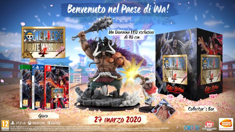 One Piece Pirate Warriors 4 Limited Edition Kaido