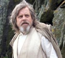 Un'immagine di Mark Hamill nei panni di Luke Skywalker