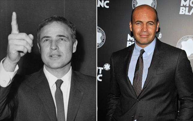 Collage di Marlon Brando e Billy Zane