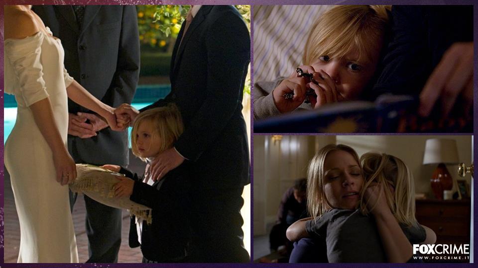 Henry LaMontagne, figlio di JJ, fa la sua prima apparizione nel settimo episodio della quarta stagione di Criminal Minds