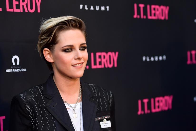 Un primo piano dell'attrice Kristen Stewart