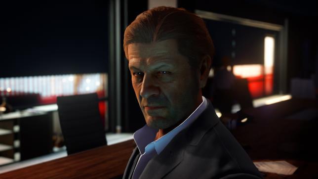 Sean Bean in-game in Hitman 2