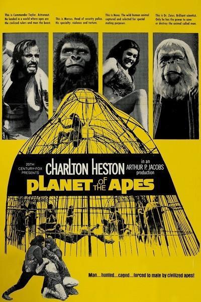 Il poster de Il pianeta delle scimmie