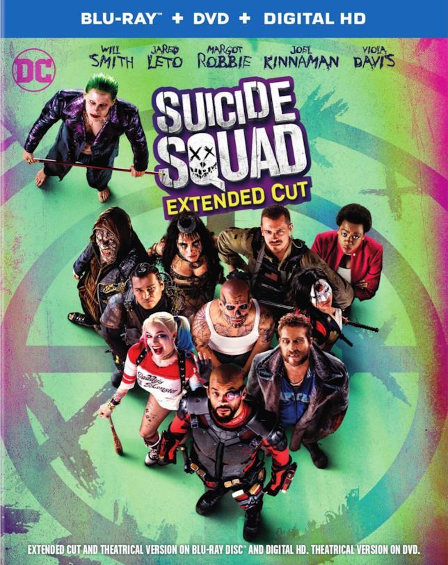Il cofanetto con la graphic nove e l'Extended Cut di Suicide Squad