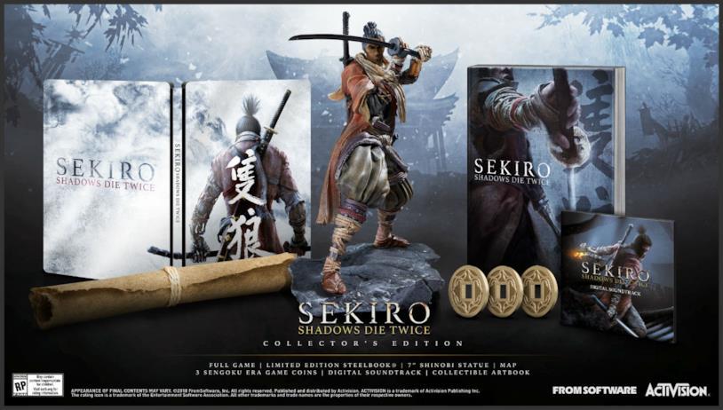 La Collector's Edition di Sekiro