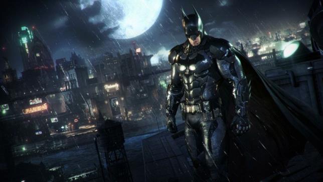 Uno screenshot di Batman in Batman: Arkham Knight