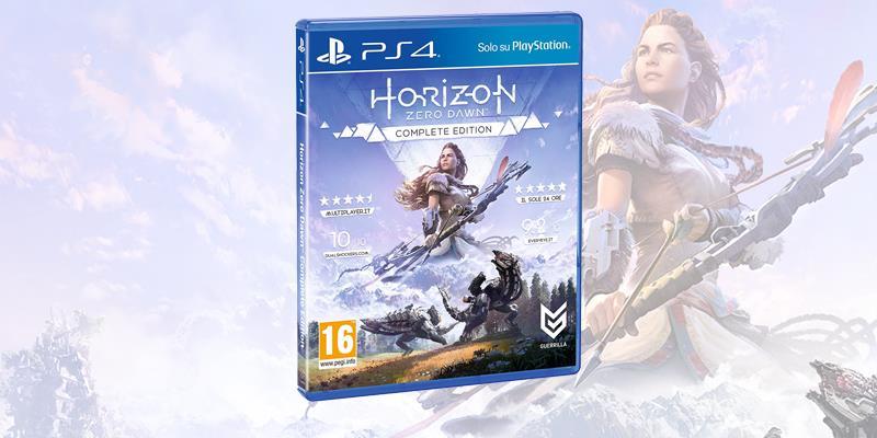 La boxart di Horizon: Zero Dawn Complete Edition