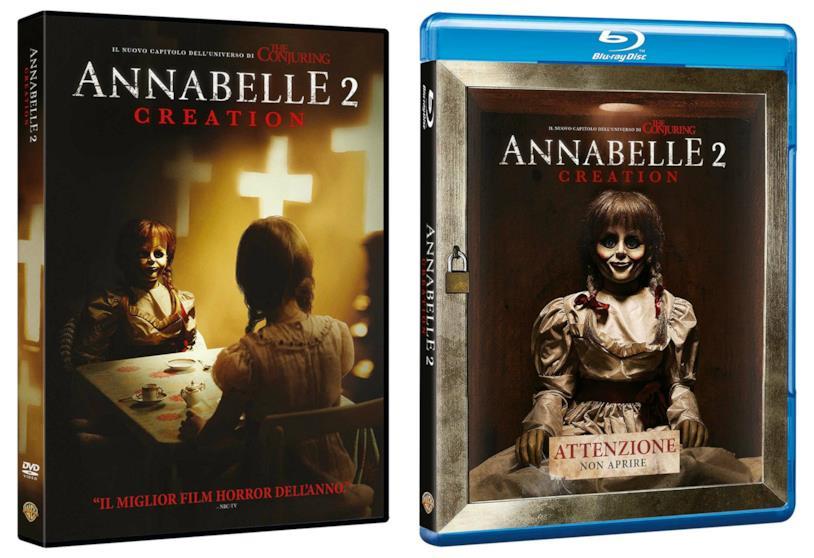 Le edizioni DVD e Blu-Ray di Annabelle 2