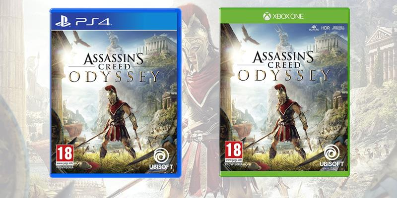 Assassin's Creed Odyssey è disponibile su PS4, Xbox One e PC