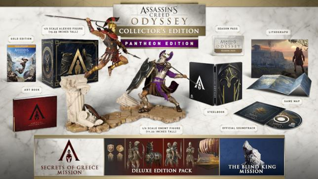 I contenuti della Pantheon Edition di Assassin's Creed Odyssey