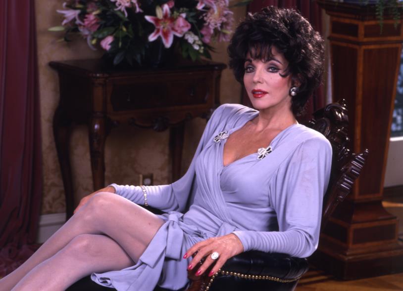 Joan Collins ai tempi di Dynasty