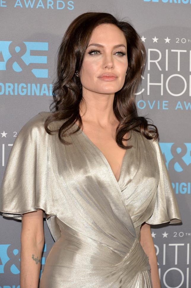 Angelina Jolie sul red carpet