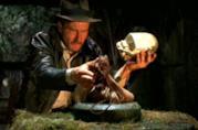 Indiana Jones e la celebre scena dell'idolo da I predatori del'arca perduta