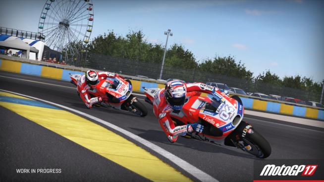 Due ruote in corsa in MotoGP 17