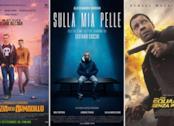 I poster dei film La profezia dell'armadillo, Sulla mia pelle, Equalizer 2 - Senza perdono