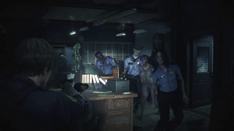 Leon centrale di polizia RE2