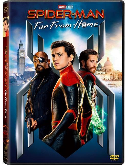 L'edizione DVD di Spider-Man: Far From Home