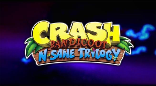 Il logo ufficiale di Crash Bandicoot N.Sane Trilogy