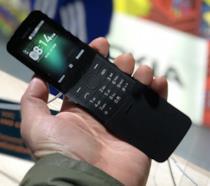 La versione di colore nero del nuovo Nokia 8110