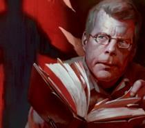 Stephen King disegnato da Tyler Jacobson