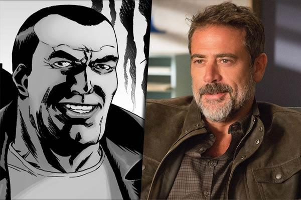 Jeffrey Dean Morgan è Negan in The Walking Dead