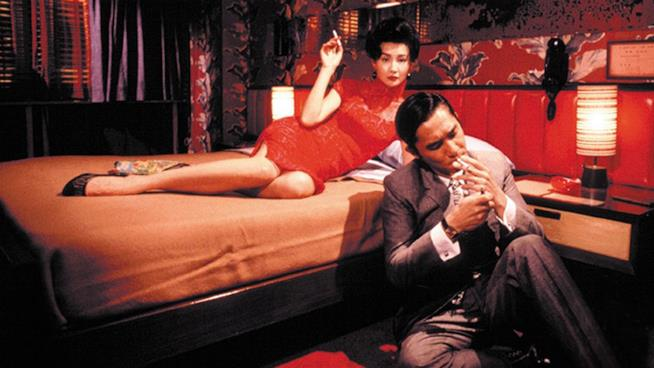 Maggie Cheung e Tony Leung in In The Mood Of Love