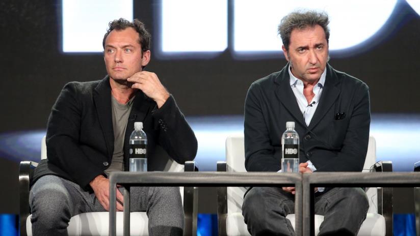 Paolo Sorrentino e Jude Law