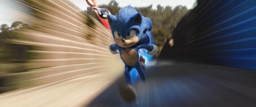 Sonic il Film corsa