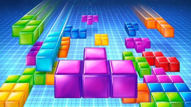 Un'illustrazione di Tetris