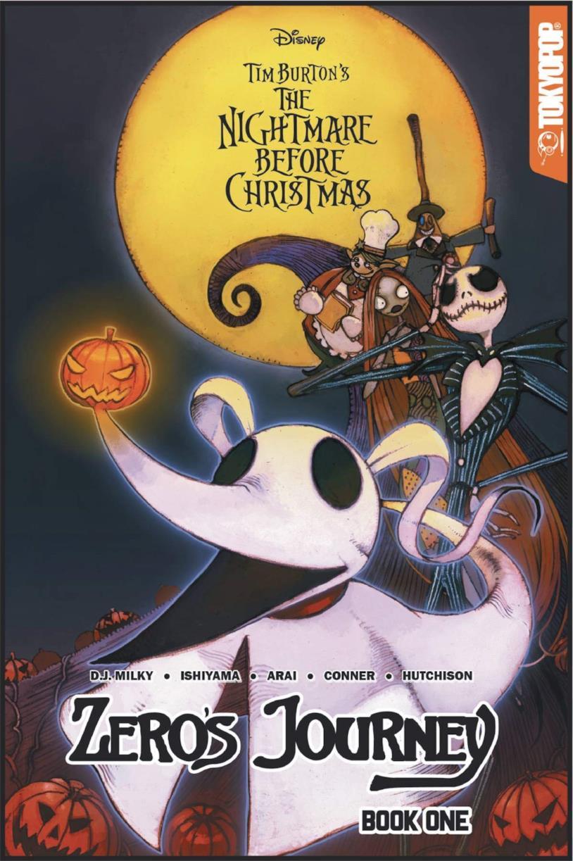 La cover di Nightmare Before Christmas: Zero's Journey