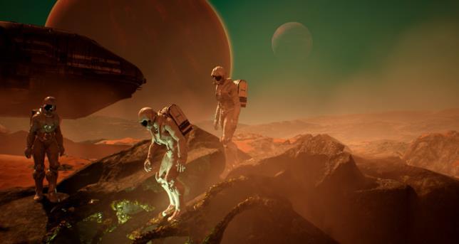 Un'immagine promozionale di Genesis Alpha One